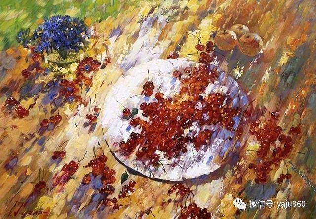花卉风景油画 俄罗斯Sergey Kuzin插图18