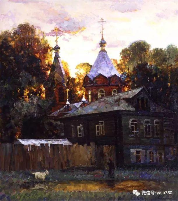 花卉风景油画 俄罗斯Sergey Kuzin插图19