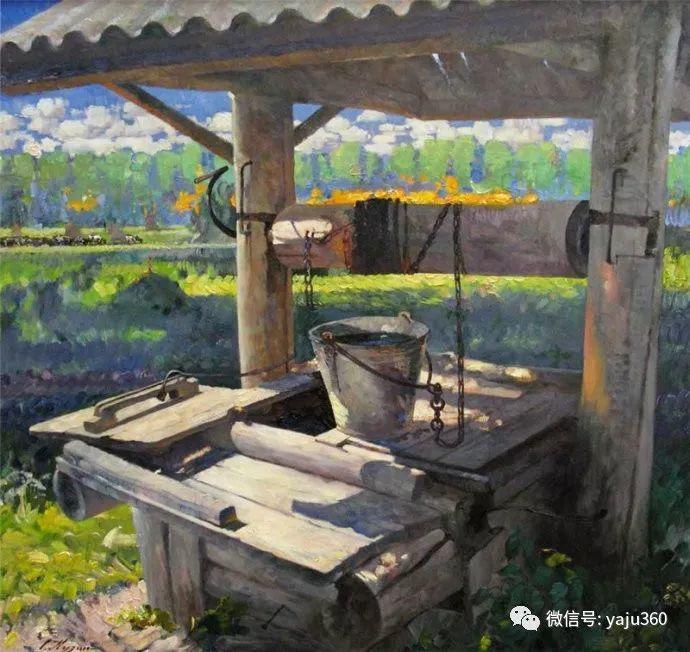 花卉风景油画 俄罗斯Sergey Kuzin插图20