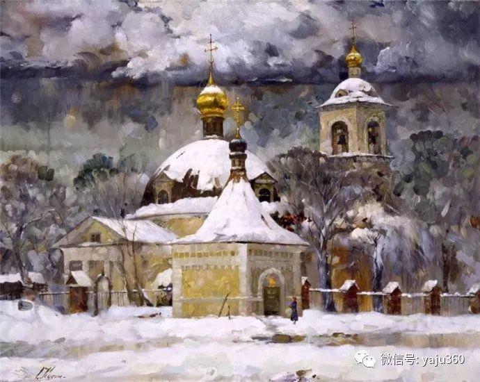 花卉风景油画 俄罗斯Sergey Kuzin插图23