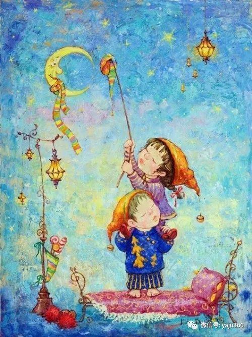 童趣 乌克兰Kate Dudnik绘画欣赏插图8