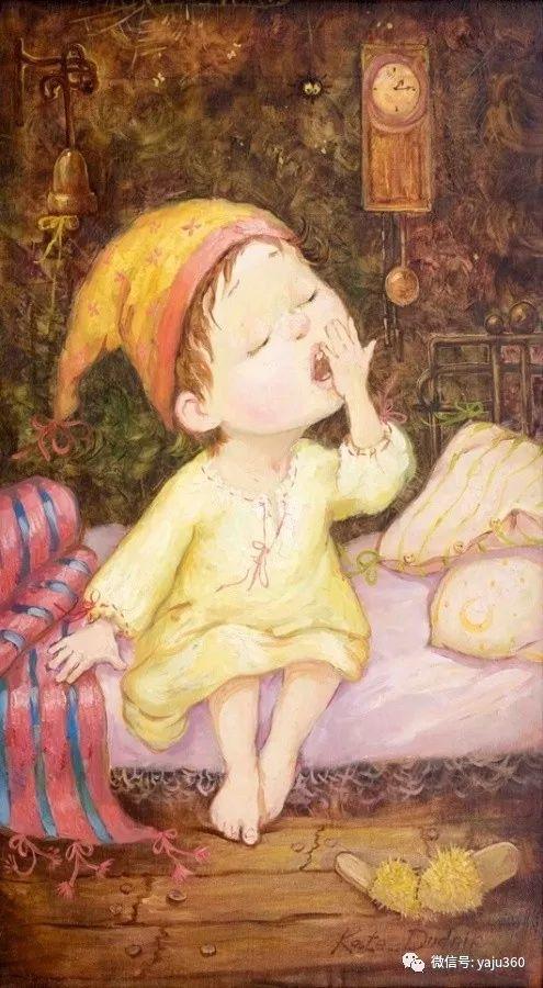 童趣 乌克兰Kate Dudnik绘画欣赏插图11
