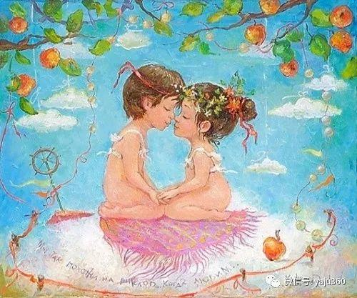 童趣 乌克兰Kate Dudnik绘画欣赏插图13
