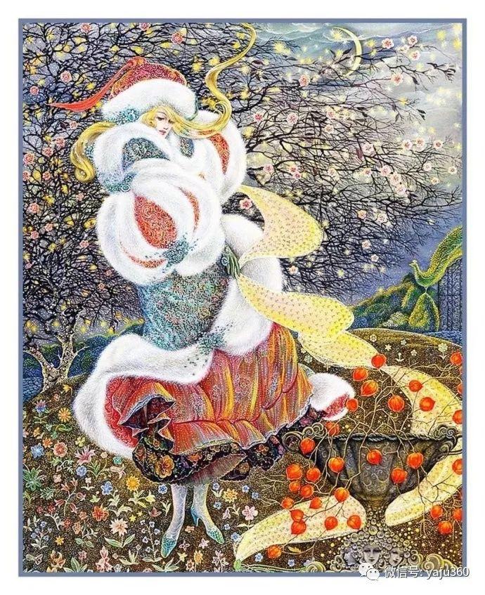 英国Pamela Colebourn绘画欣赏插图9