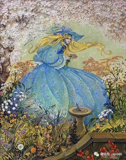 英国Pamela Colebourn绘画欣赏插图15
