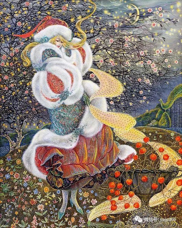 英国Pamela Colebourn绘画欣赏插图17