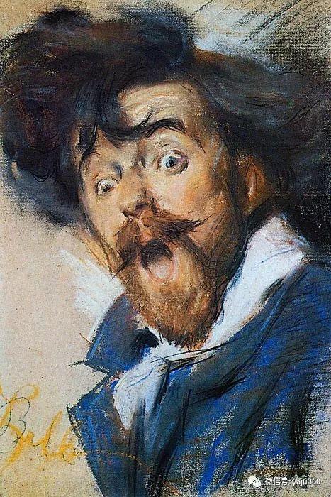 油画世界 意大利Giacomo Balla作品欣赏插图1