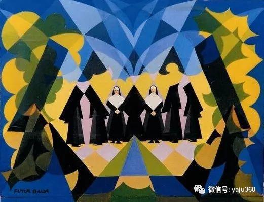 油画世界 意大利Giacomo Balla作品欣赏插图5