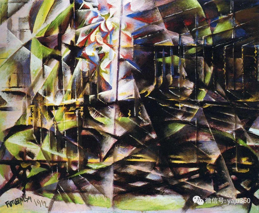 油画世界 意大利Giacomo Balla作品欣赏插图21