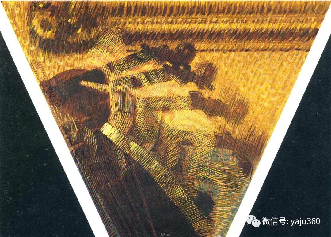油画世界 意大利Giacomo Balla作品欣赏插图23
