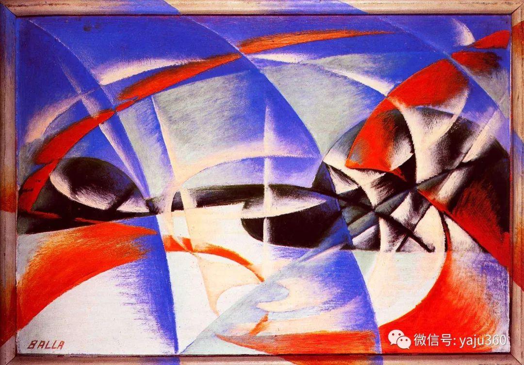 油画世界 意大利Giacomo Balla作品欣赏插图25