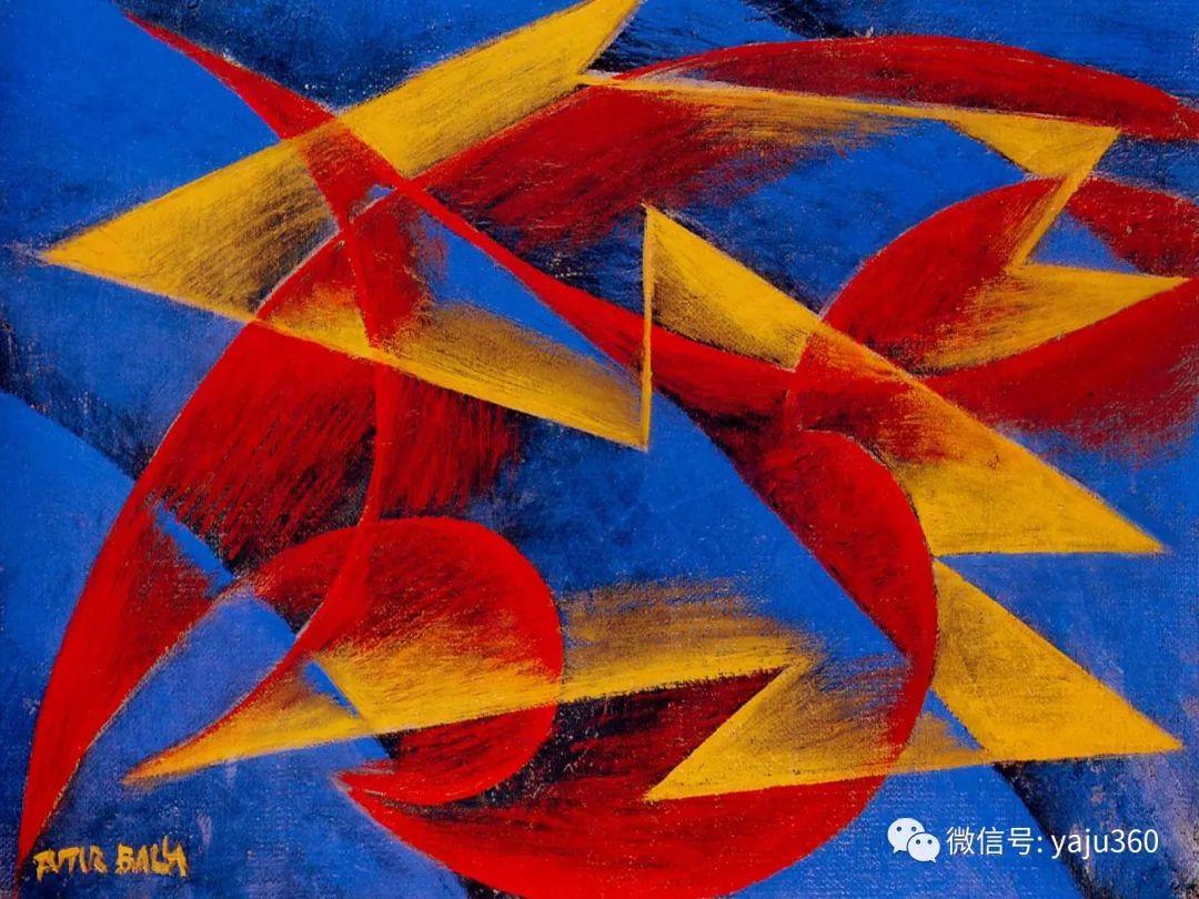 油画世界 意大利Giacomo Balla作品欣赏插图27