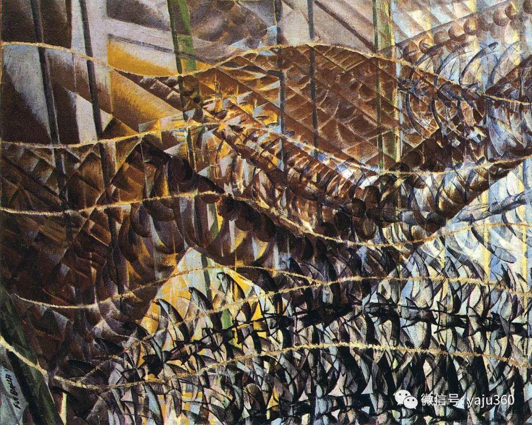 油画世界 意大利Giacomo Balla作品欣赏插图29