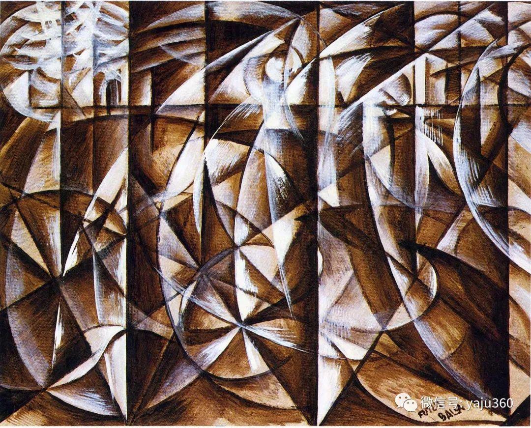 油画世界 意大利Giacomo Balla作品欣赏插图31
