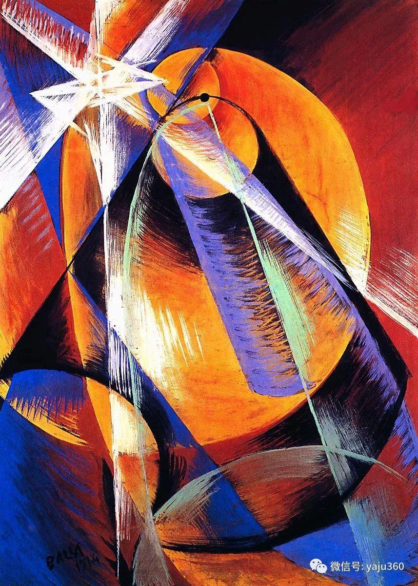 油画世界 意大利Giacomo Balla作品欣赏插图35