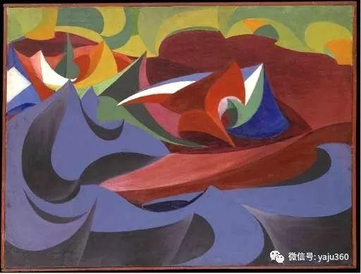 油画世界 意大利Giacomo Balla作品欣赏插图39