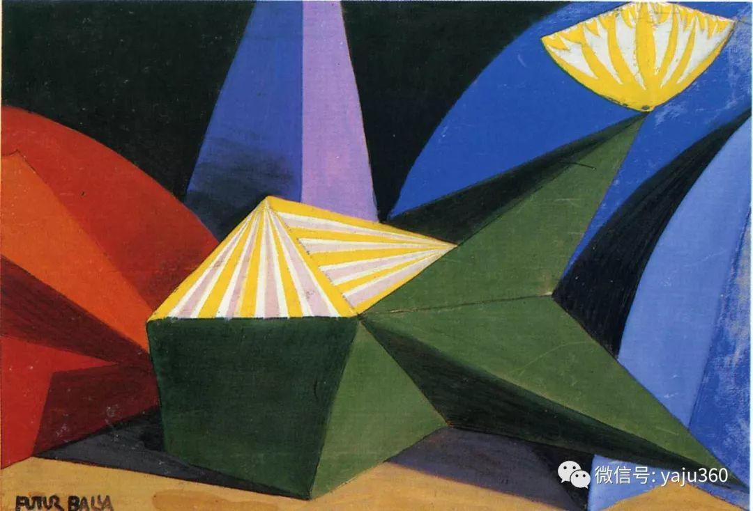 油画世界 意大利Giacomo Balla作品欣赏插图41