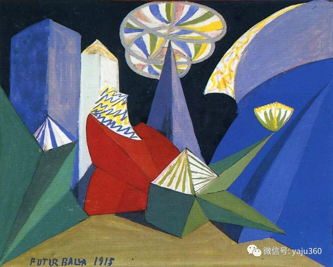 油画世界 意大利Giacomo Balla作品欣赏插图43