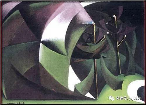 油画世界 意大利Giacomo Balla作品欣赏插图49