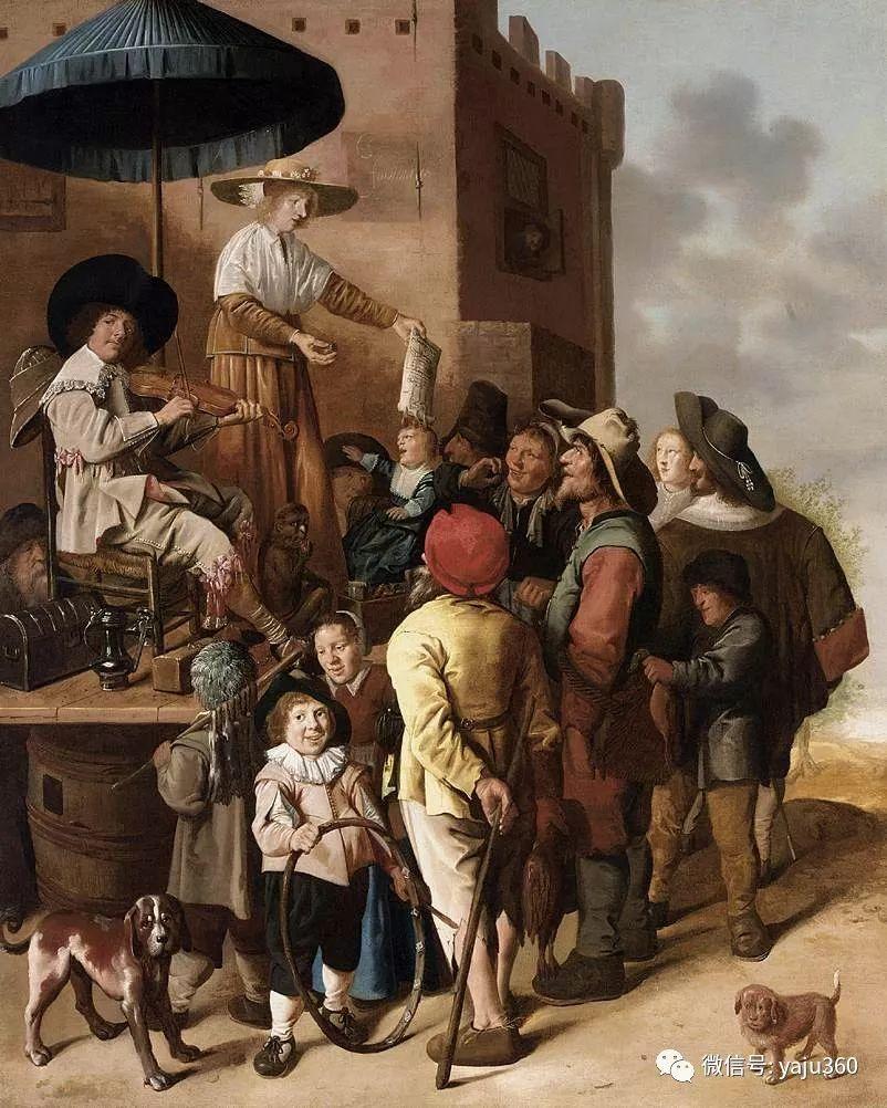 油画世界 17世纪荷兰画家Jan Miense Molenaer插图3