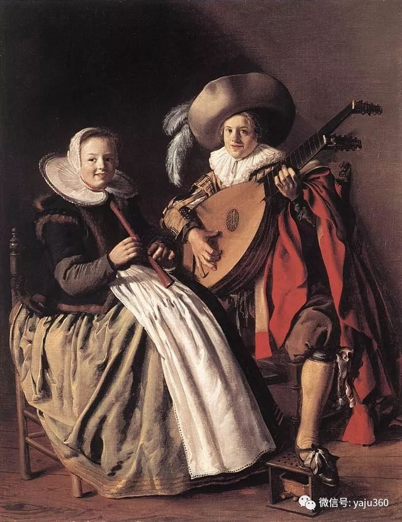 油画世界 17世纪荷兰画家Jan Miense Molenaer插图5