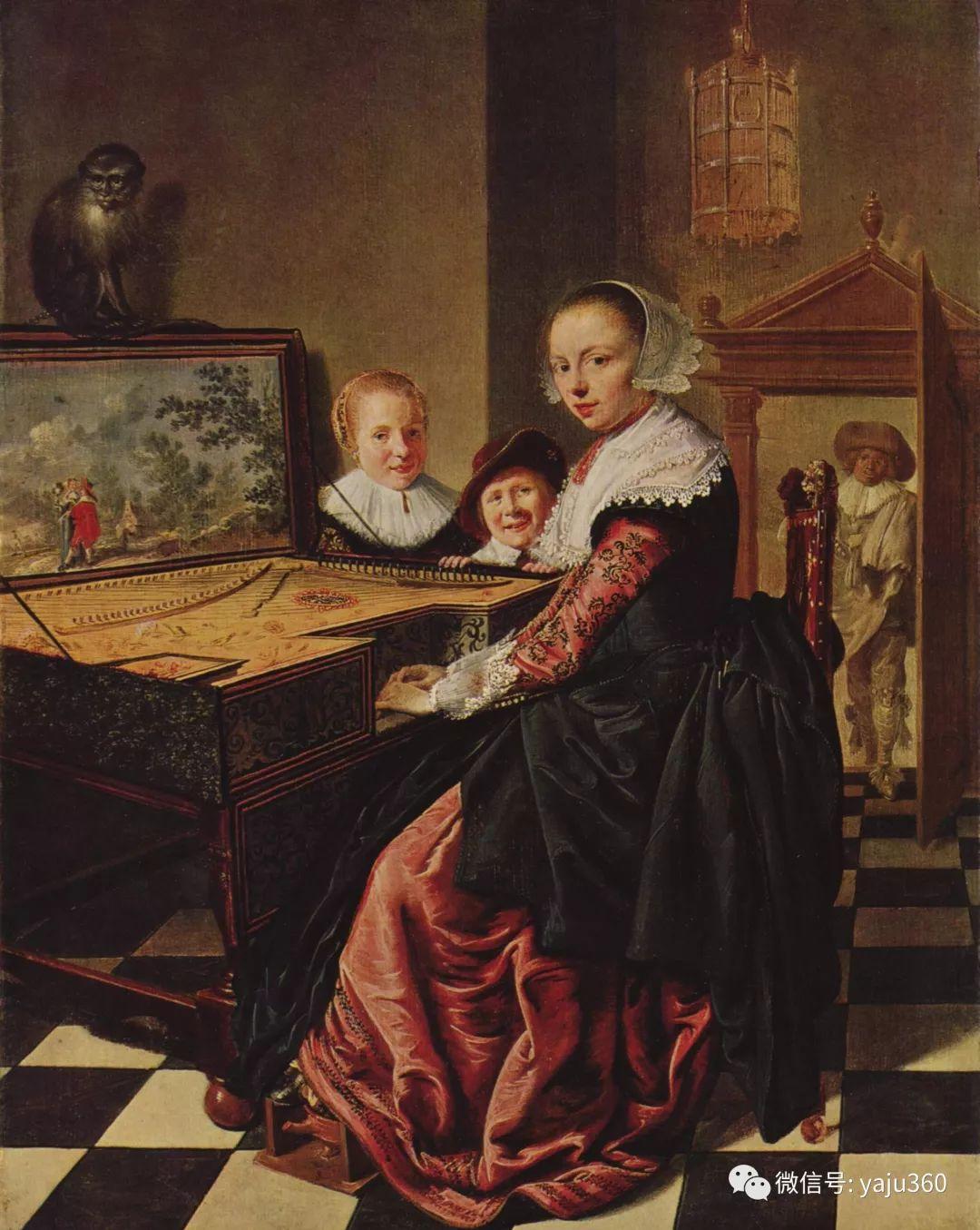 油画世界 17世纪荷兰画家Jan Miense Molenaer插图7