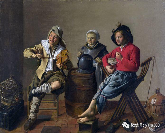 油画世界 17世纪荷兰画家Jan Miense Molenaer插图13