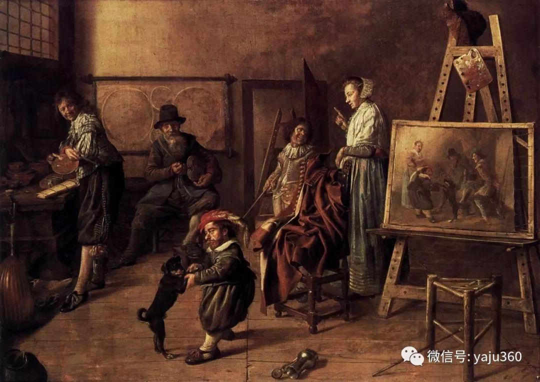 油画世界 17世纪荷兰画家Jan Miense Molenaer插图17