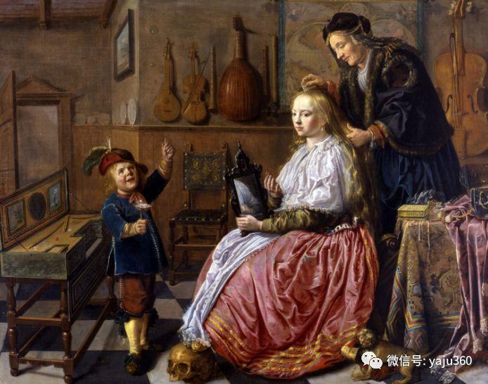 油画世界 17世纪荷兰画家Jan Miense Molenaer插图19