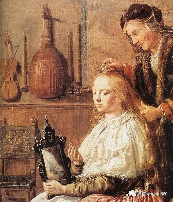 油画世界 17世纪荷兰画家Jan Miense Molenaer插图21