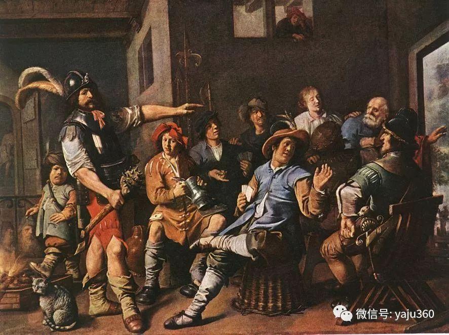 油画世界 17世纪荷兰画家Jan Miense Molenaer插图23
