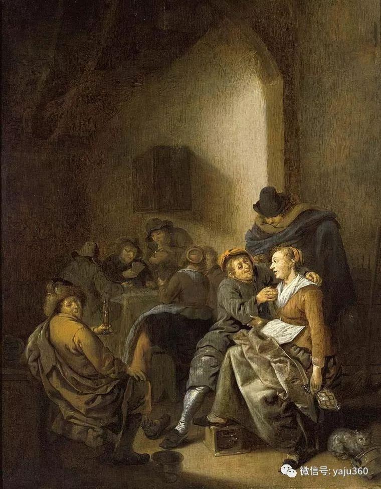 油画世界 17世纪荷兰画家Jan Miense Molenaer插图31