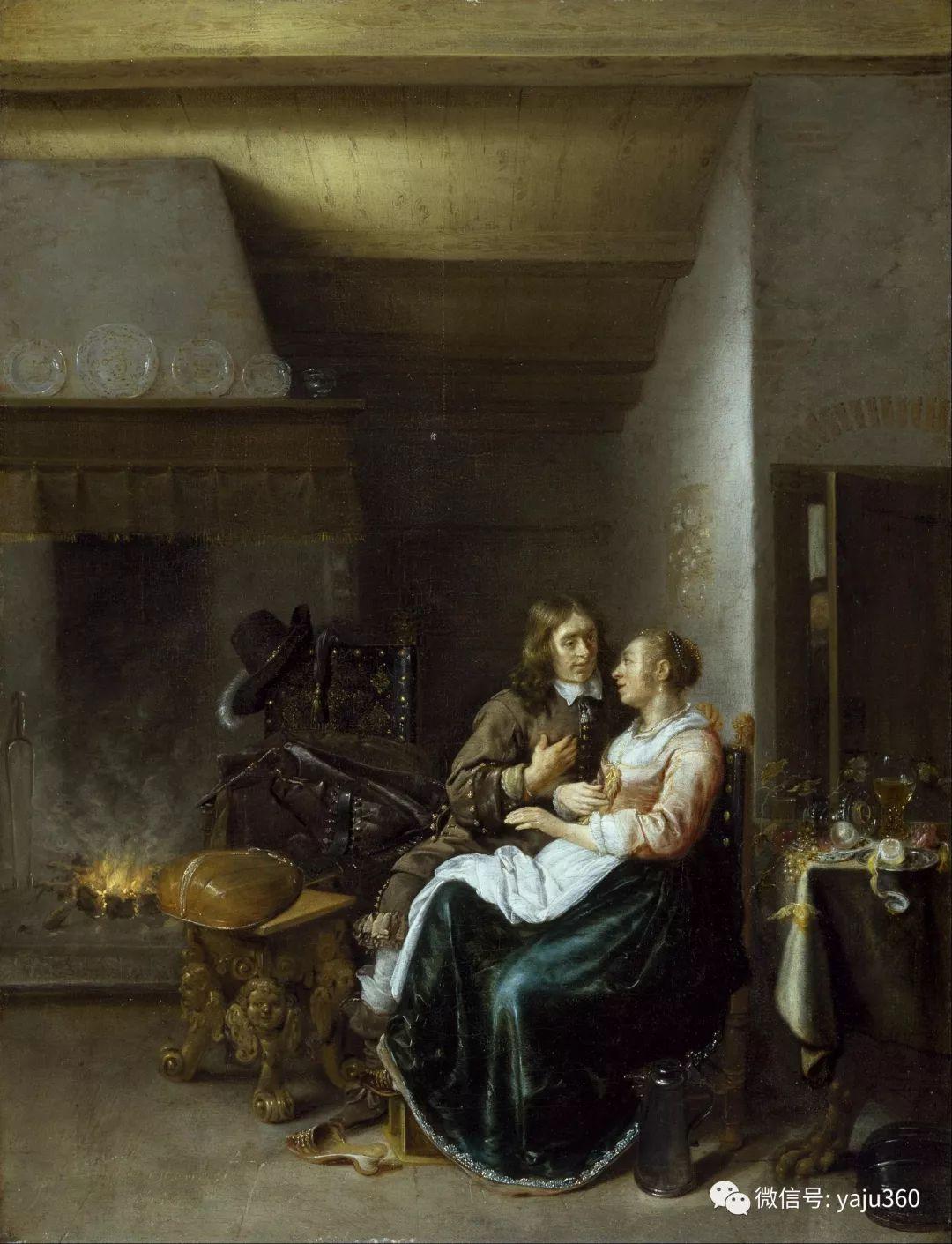 油画世界 17世纪荷兰画家Jan Miense Molenaer插图37