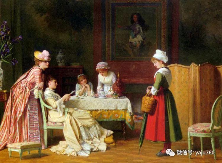比利时查尔斯·巴格涅特油画欣赏插图1