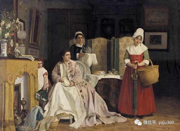 比利时查尔斯·巴格涅特油画欣赏插图3