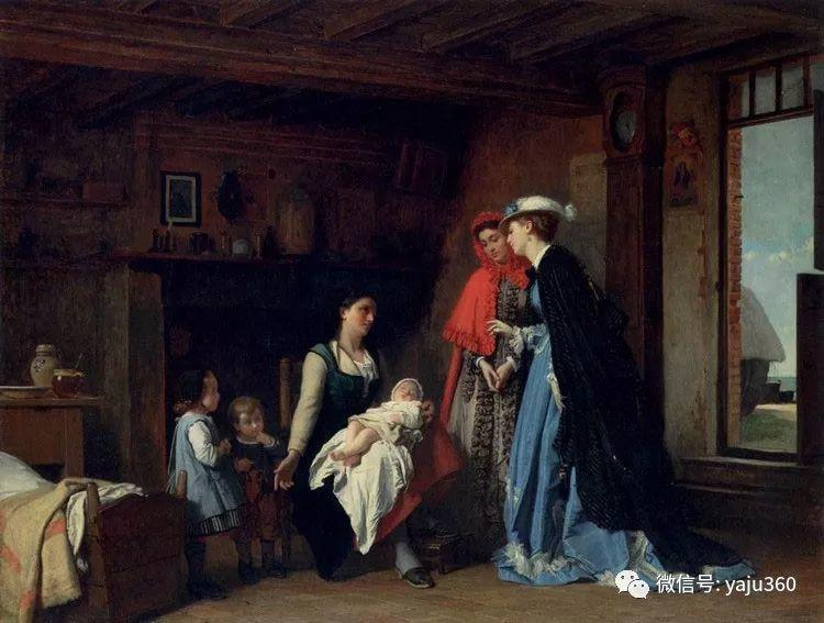 比利时查尔斯·巴格涅特油画欣赏插图5