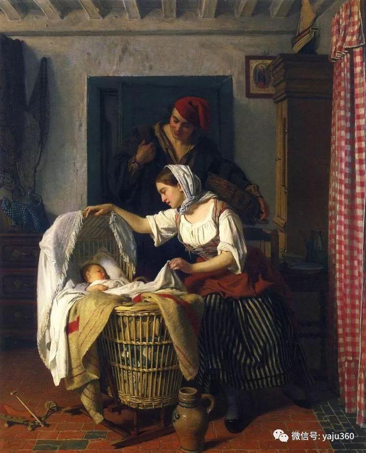 比利时查尔斯·巴格涅特油画欣赏插图7