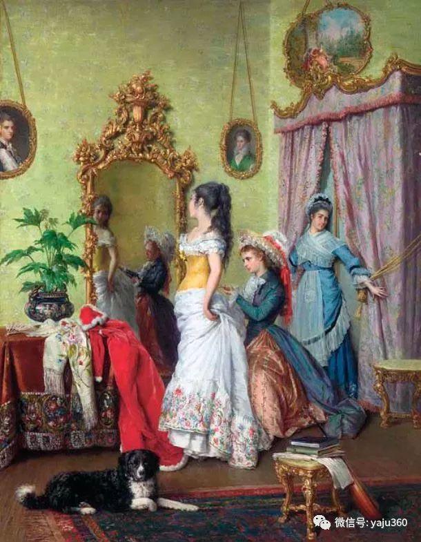 比利时查尔斯·巴格涅特油画欣赏插图9