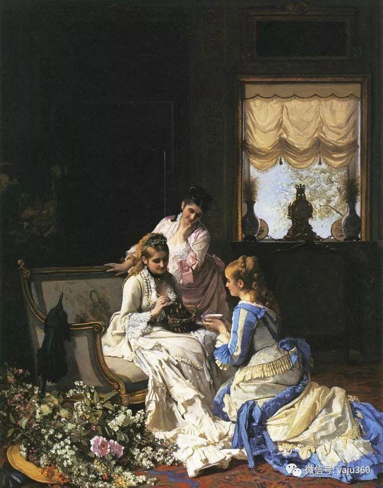 比利时查尔斯·巴格涅特油画欣赏插图11