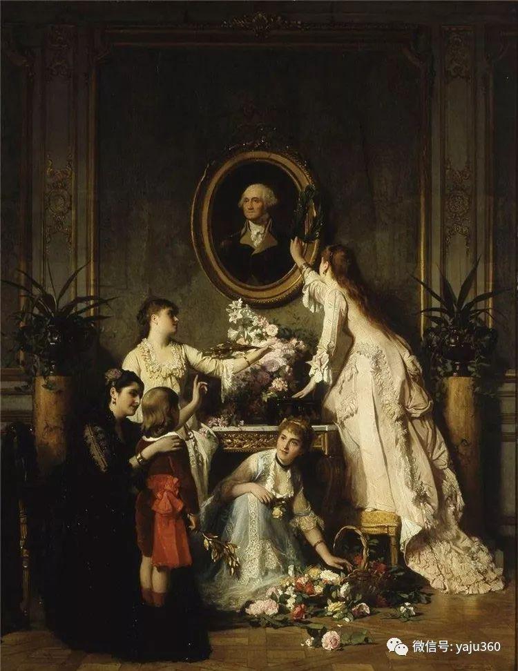 比利时查尔斯·巴格涅特油画欣赏插图13