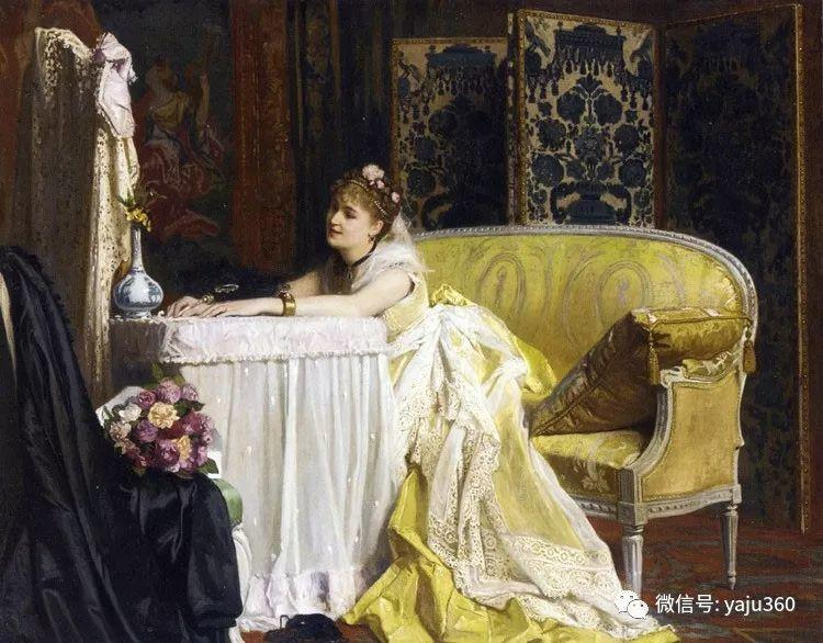 比利时查尔斯·巴格涅特油画欣赏插图15