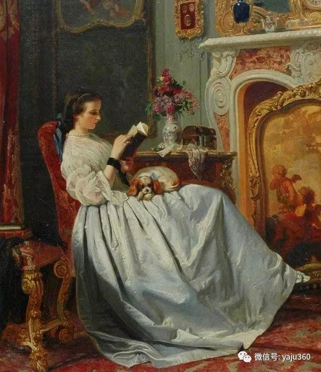 比利时查尔斯·巴格涅特油画欣赏插图17