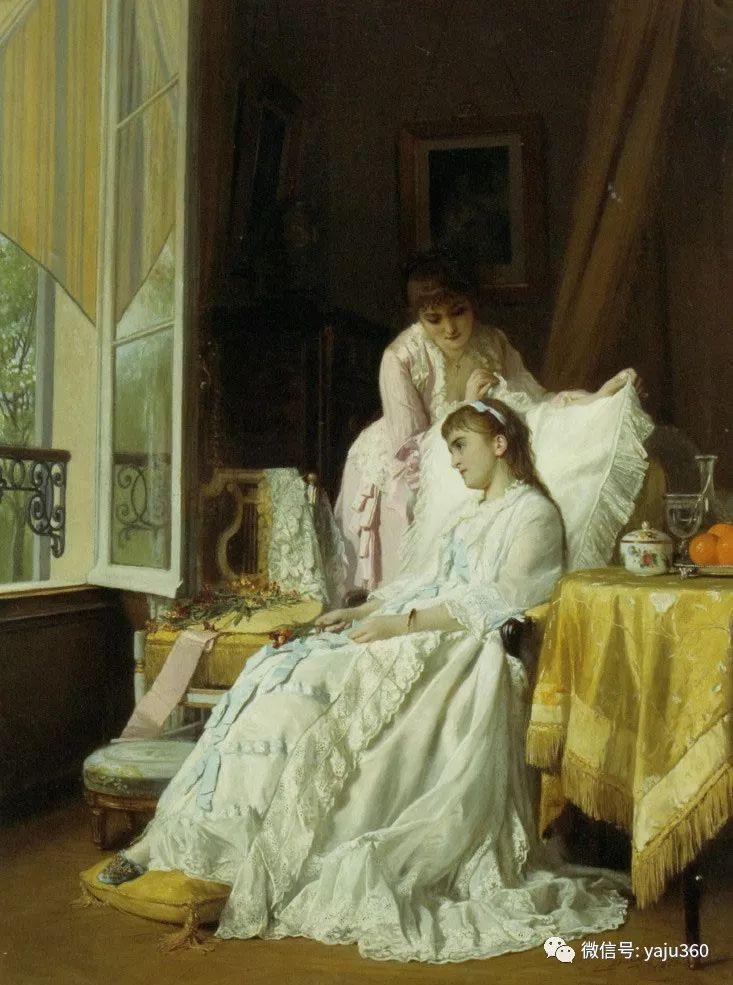 比利时查尔斯·巴格涅特油画欣赏插图19