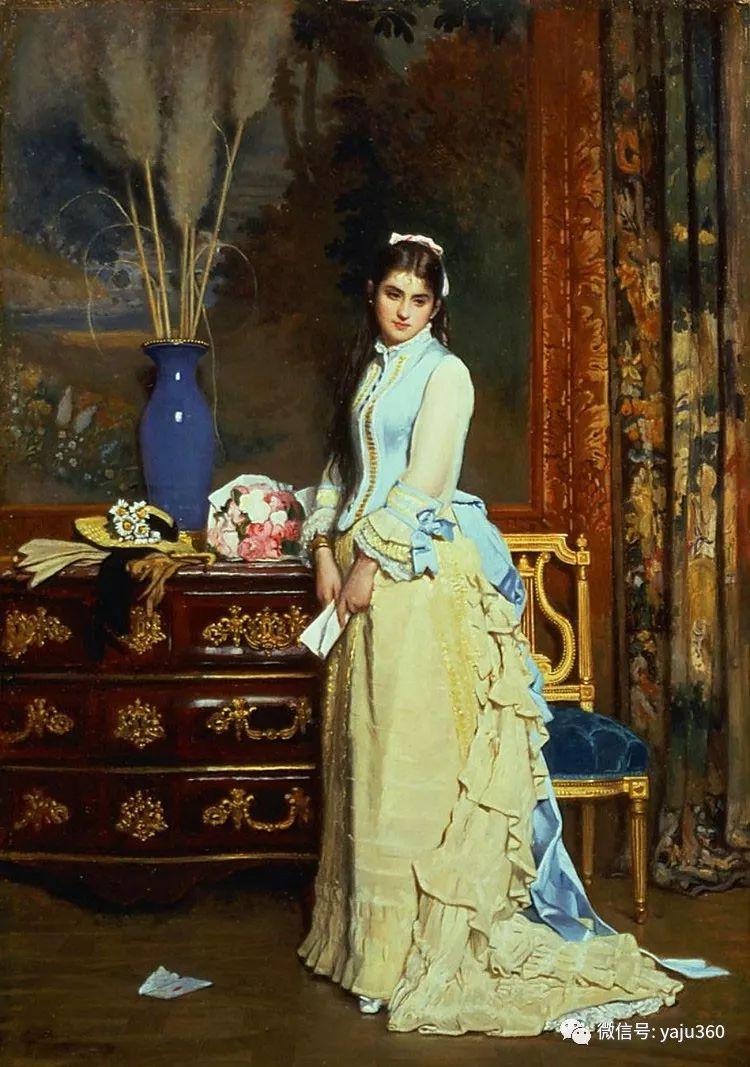 比利时查尔斯·巴格涅特油画欣赏插图21