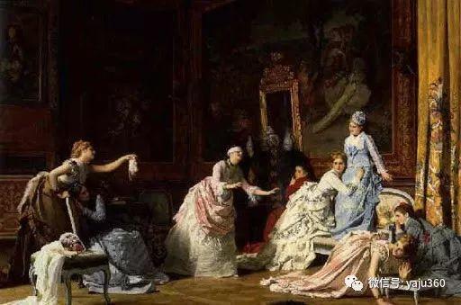 比利时查尔斯·巴格涅特油画欣赏插图23