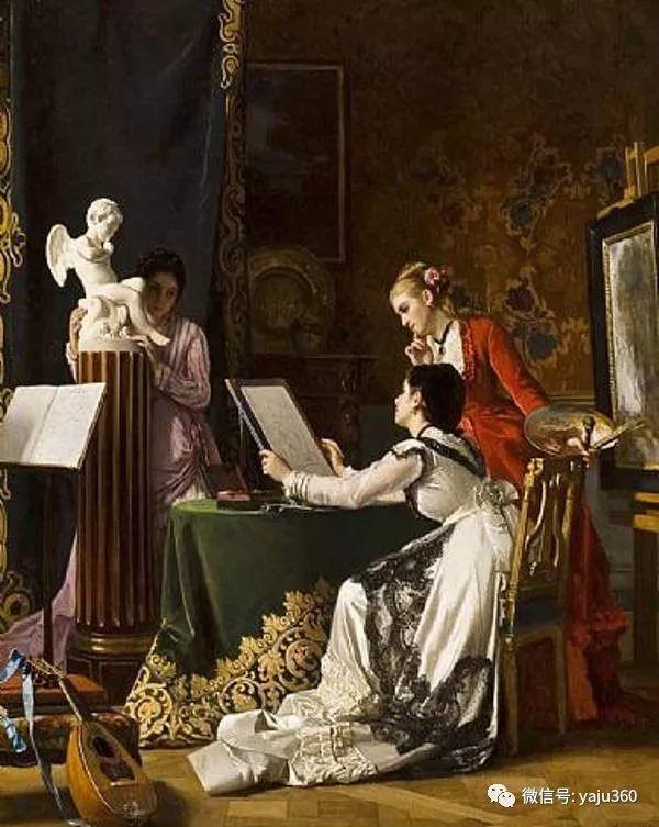 比利时查尔斯·巴格涅特油画欣赏插图29