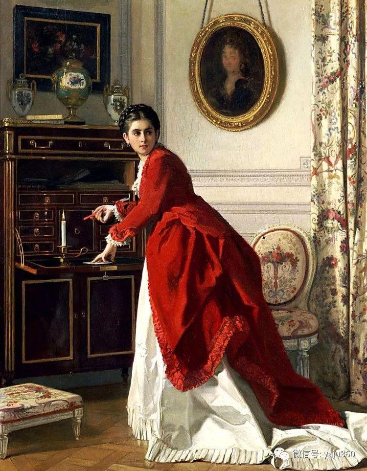比利时查尔斯·巴格涅特油画欣赏插图31