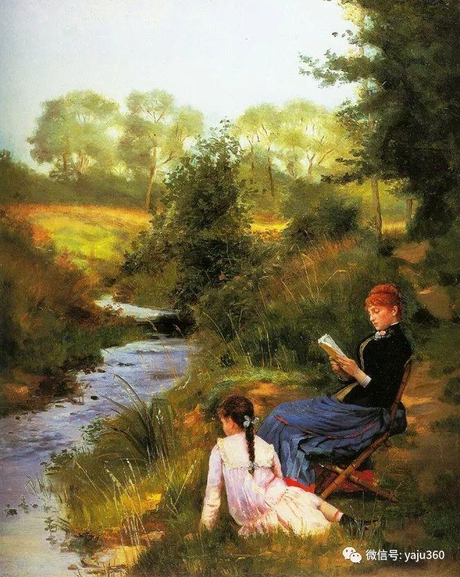 比利时查尔斯·巴格涅特油画欣赏插图33
