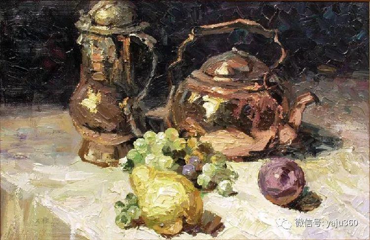 乌兹别克斯坦Ruben Bore油画欣赏插图15