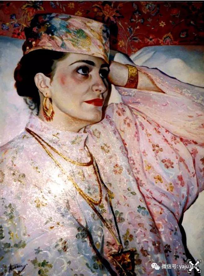 乌兹别克斯坦Ruben Bore油画欣赏插图25